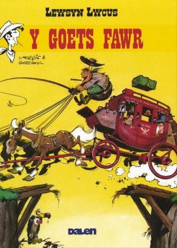 Lewsyn Lwcus: Y Goets Fawr (Hardback)