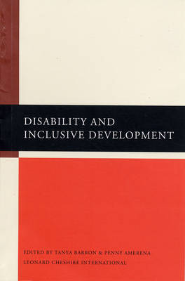 Disability and Inclusive Development (Paperback)