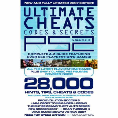 Ultimate PS2 Cheats, Codes and Secrets: v. 9 (Paperback)