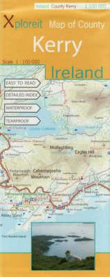 Xploreit Map of County Kerry, Ireland - Xploreit County Series v. 1 (Sheet map, folded)