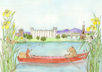 Bear in a Boat in the Borders (Paperback)