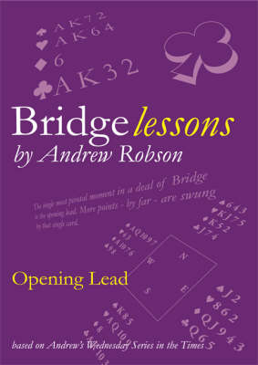 Opening Lead - Bridge Lessons (Paperback)