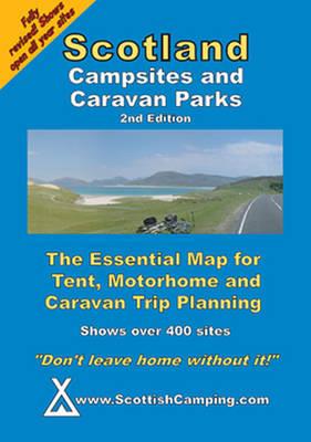 Scotland Campsites and Caravan Parks (Sheet map, folded)