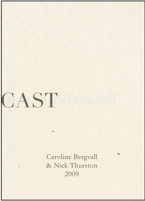The Die is Cast: Caroline Bergvall and Nick Thurston (Paperback)