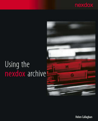 Using the Nexdox Archive (Paperback)