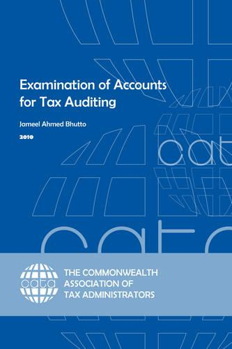 Examination of Accounts for Tax Auditing (Paperback)