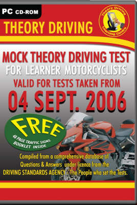 Mock Theory Driving for Learner Motorcyclists (CD-ROM)