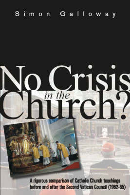 No Crisis in the Church? (Paperback)