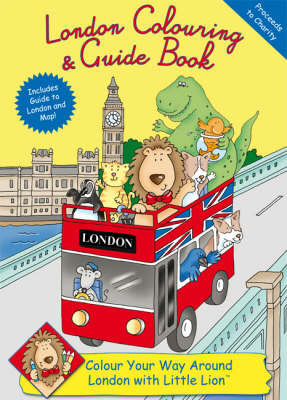 London Colouring and Guide Book (Paperback)