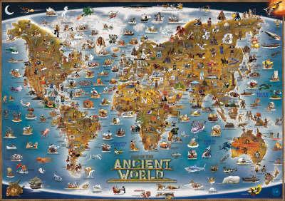 Ancient World Children's Map - Children's Maps S. (Sheet map, flat)