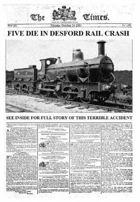 Five Die in Desford Rail Crash (Paperback)