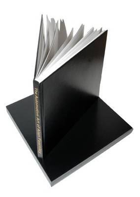 The Automotive Art of Alan Fearnley - Original Scrapbook (Leather / fine binding)