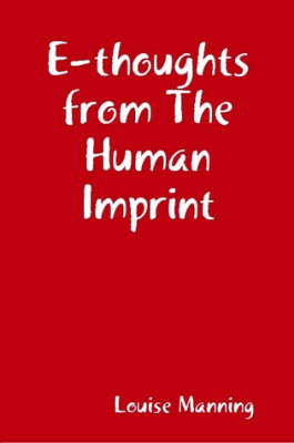 E-thoughts from The Human Imprint (Paperback)