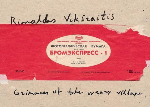 Rimaldas Viksraitis: Grimaces of the Weary Village: Photographs 1976-2006, selected by Martin Parr (Paperback)