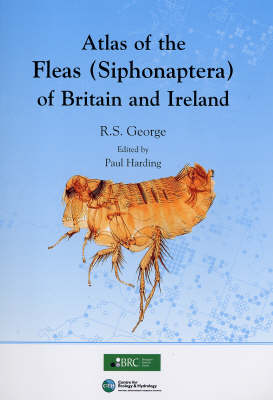 Atlas of the Fleas (siphonaptera) of Britain and Ireland (Paperback)
