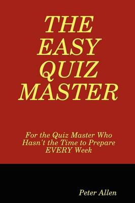 The Easy Quiz Master (Paperback)