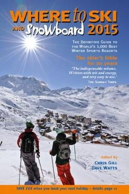 Where to Ski & Snowboard 2015 (Paperback)