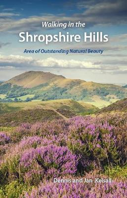 Walking in the Shropshire Hills: Area of Outstanding Natural Beauty (Paperback)