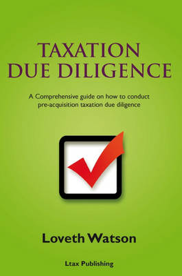 Taxation Due Diligence (Paperback)