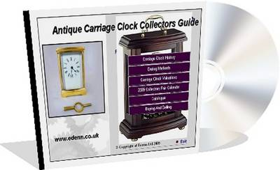 Antique Carriage Clocks Collectors Price Guide (CD-ROM)