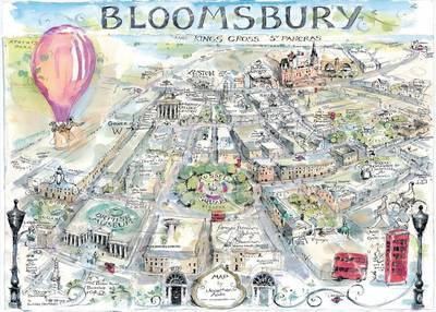 Bloomsbury Map By Jonathan Addis Waterstones