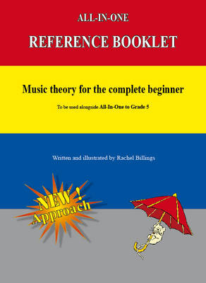 Music Theory for the Complete Beginner: Reference Booklet - All-in-One Series (Paperback)