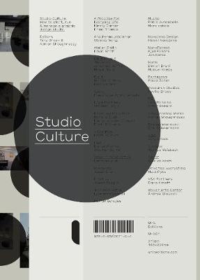 Studio Culture (Paperback)