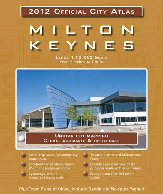 Milton Keynes 2012 Official City Atlas (Paperback)