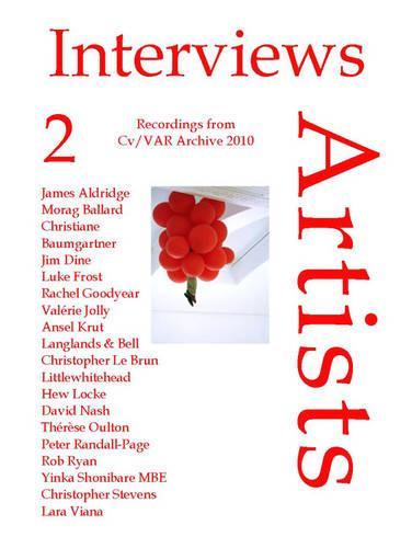 Interviews-Artists: v. 2: Recordings 2010: Pocket Edition - CV/Visual Arts Research 101 (Book)