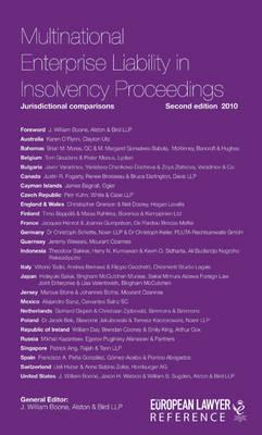 Multinational Enterprise Liability in insolvency Proceedings (Hardback)
