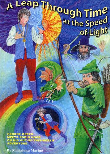 A Leapthrough Time at the Speed of Light: A Fantasy Story of George Green (Paperback)