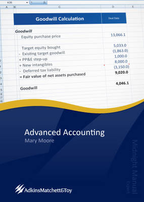 Advanced Accounting 2012: Midnight Manual (Paperback)