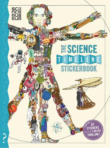 The Science Timeline Stickerbook - What on Earth Stickerbook Series (Paperback)