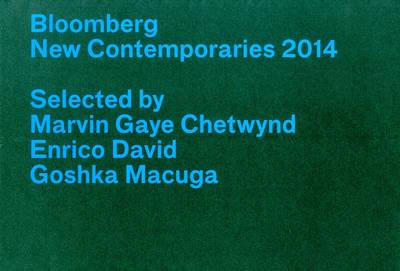 Bloomberg New Contemporaries 2014 (Paperback)