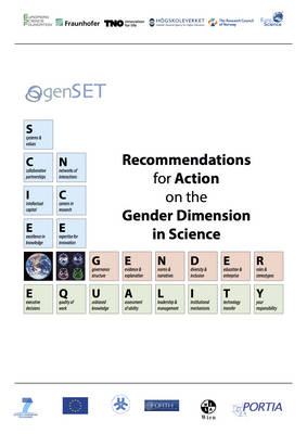 Recommendations for Action on the Gender Dimension in Science (Paperback)