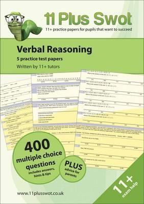Verbal Reasoning: Practice Test Papers - 11 Plus Swot (Paperback)