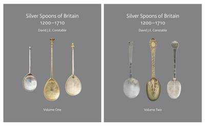 Silver Spoons of Britain 1200 - 1710: The Complete History of Silver Spoons of England, Ireland and Scotland and Their Makers 1200 - 1710 (Hardback)