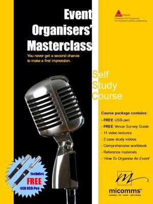 Event Organisers' Masterclass: 1 1: 1-Day Self-Study Training Course - Event Organisers' Masterclass