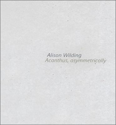 Alison Wilding: Acanthus Asymmetrically (Paperback)