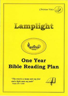 Lamplight - One Year Bible Reading Plan (Paperback)