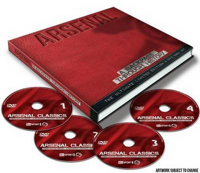 Arsenal a Backpass Through History (Paperback)