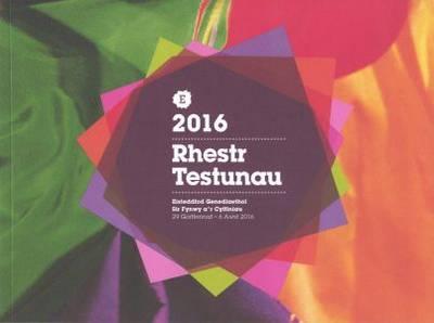 Rhestr Testunau Eisteddfod Genedlaethol Cymru Sir Fynwy 2016 (Paperback)