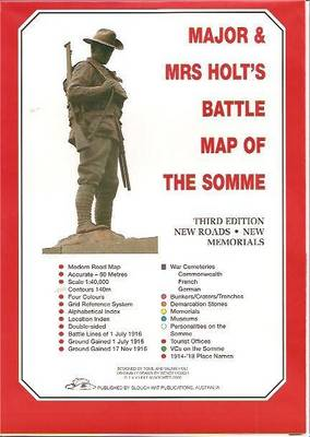 Major and Mrs Holt's Battle Map of the Somme (Sheet map, folded)