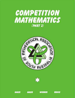 Competition Mathematics: Part 2: Part 2 (Paperback)