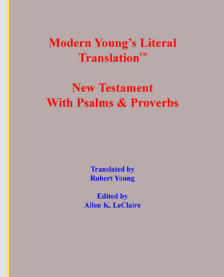 Modern Young's Literal Translation New Testament (Paperback)
