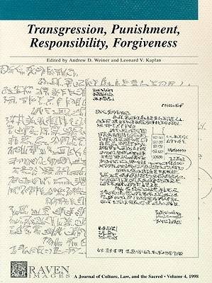 Transgression Punishment Responsibility Forgive (Paperback)