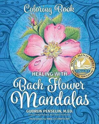 Healing with Bach Flower Mandalas: Coloring Book (Paperback)