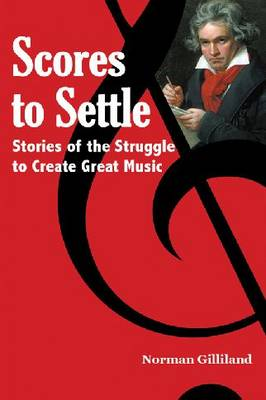 Scores to Settle: Stories of the Struggle to Create Great Music (Paperback)