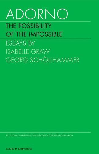 Adorno - The Possibility of the Impossible: v.II (Hardback)
