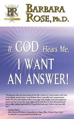 If God Hears Me, I Want an Answer! (Paperback)